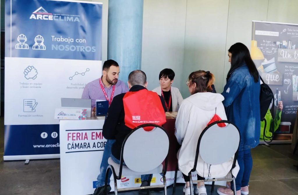 Arce Clima en la V Feria de Empleo de A Coruña