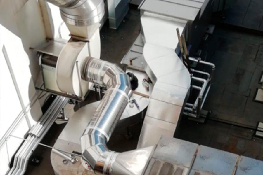 Renovación de la producción térmica y ventilación del edificio de EA Sports en Ginebra