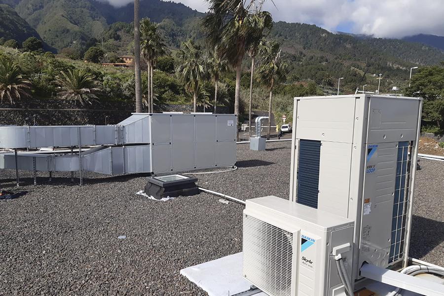 Proyecto de climatización en Hospital Dolores de La Palma